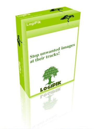 When a legitimate user uploads an acceptable picture, LogiPik analyzes it, ...