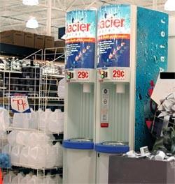 glacier water machine safe