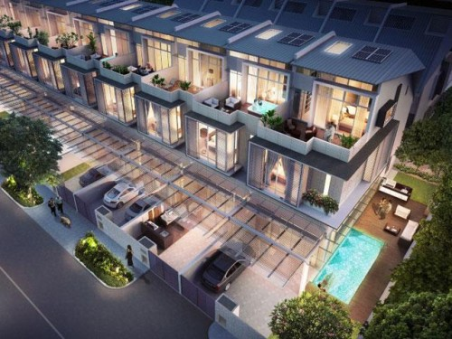 Singapore a hub of luxurious terrace houses by loria hasey for Terrace house singapore