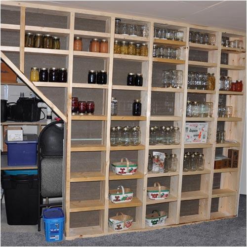 storage shelves for the basement by lisa header