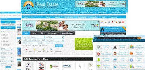 php real estate script