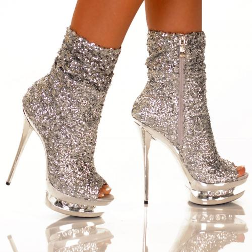 8 Inch Heel Sticker Shoe - what every girl needs. stripper shoes with a girl