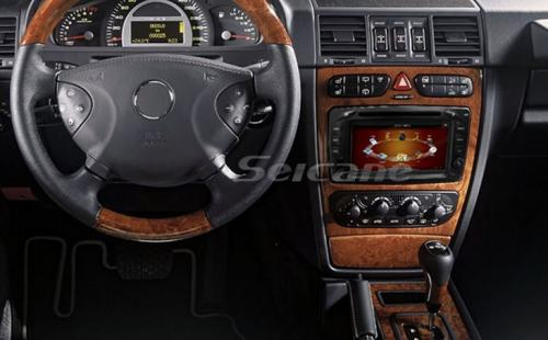 select 2003 mercedes benz c class w203 c180 c200 gps radio. Black Bedroom Furniture Sets. Home Design Ideas