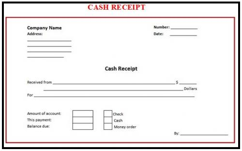 free editable receipt template