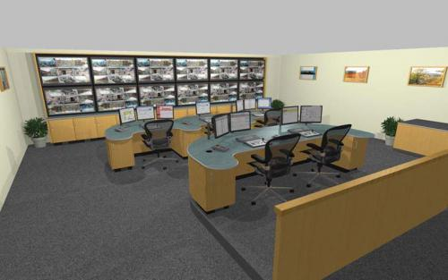 Control Room Design Features And Cctv Camera Installation