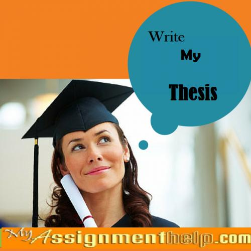 I want to write my thesis