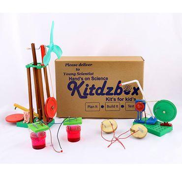kitdzbox easy science experiment kits
