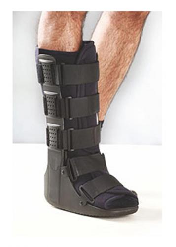 walker boot with air inflation system for ankle sprain by