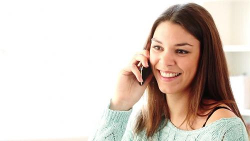 Online dating phone call