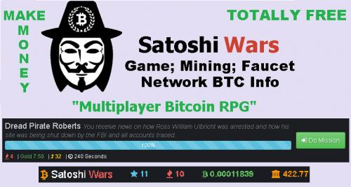 SATOSHI WARS Really is The Number ONE!