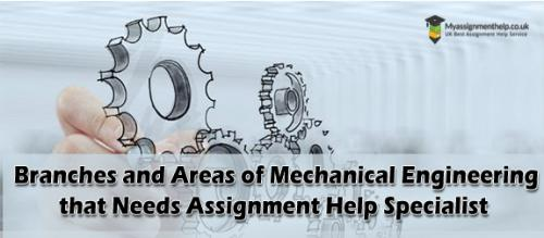 Mechanical engineering assignment help
