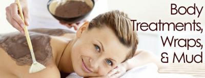 BODY TREATMENTS WRAPS AND MUDS