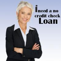 I Need A No Credit Check Loan