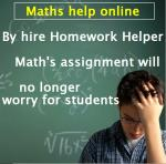 homework help online free math Free math lessons and math homework help from basic math to algebra, geometry and beyond students, teachers, parents, and everyone can find solutions to their math problems instantly.