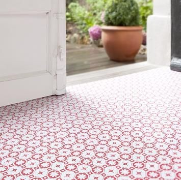 How to lay self adhesive floor tiles by nick austin for Cool vinyl flooring uk