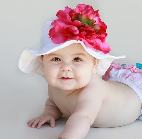 Baby Flower Headbands In The Hair Of Your Baby Make Her