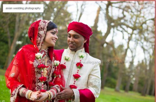 Asian wedding photography UK