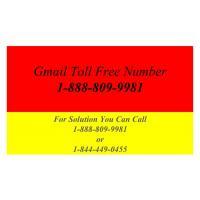 Gmail Toll Free Number